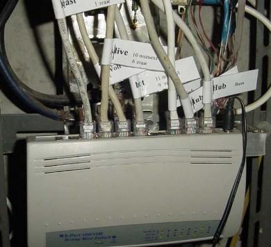 установка локальной сети - фото 9